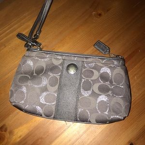 Coach Bags - 2 Vintage coach clutch bag